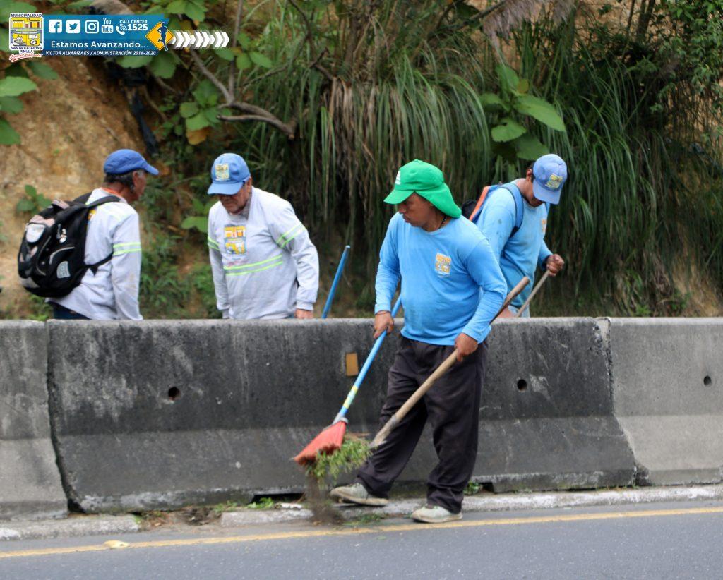 JORNADA DE LIMPIEZA – RUTA CARRETERA A EL SALVADOR